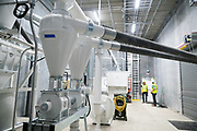 Tour of PURIS pea protein processing facility in Dawson, Minnesota, on Tuesday, June 8, 2021.