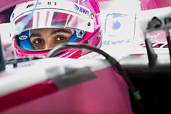 October 19, 2018 - Austin, United States - OCON Esteban (fra), Racing Point Force India F1 VJM11, portrait during the 2018 Formula One World Championship, United States of America Grand Prix from october 18 to 21 in Austin, Texas, USA -  /   Motorsports: FIA Formula One World Championship; 2018; Grand Prix; United States, FORMULA 1 PIRELLI 2018 UNITED S GRAND PRIX , Circuit of The Americas  (Credit Image: © Hoch Zwei via ZUMA Wire)
