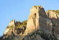 The Open Door is an 11,113 feet high peak in the Gros Ventre Mountains.