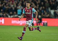 Football - 2016 / 2017 Premier League - West Ham United vs. Stoke City<br /> <br /> Ashley Fletcher of West Ham at The London Stadium.<br /> <br /> COLORSPORT/DANIEL BEARHAM