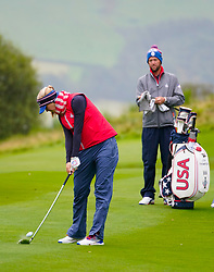 Auchterarder, Scotland, UK. 12 September 2019. Final practice day at 2019 Solheim Cup on Centenary Course at Gleneagles. Pictured; Iain Masterton/Alamy Live News