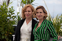 Actress Cecilia Roth and Mercedes Moran at the El Ángel (L'Ange) film photo call at the 71st Cannes Film Festival, Friday 11th May 2018, Cannes, France. Photo credit: Doreen Kennedy
