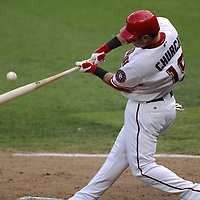 21 July 2007:  Washington Nationals left fielder Ryan Church (19) in action against the Colorado Rockies.  The Nationals defeated the Rockies 3-0 at RFK Stadium in Washington, D.C.  ****For Editorial Use Only****