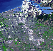 At 12:51 p.m. local time on Feb. 22, 2011, New Zealand's South Island was rocked by a powerful magnitude 6.3 earthquake. Cantered near Christchurch, the largest city on South Island with a population of about 377,000, the quake is the worst natural disaster to hit that nation in 80 years. According to the Associated Press, at least 76 people have been killed and more than 230 people are still missing. Damage estimates currently stand at up to $12 billion. The earthquake was centred in Lyttelton, just 10 kilometres (6.2 miles) southeast of Christchurch, at a shallow depth of just 5 kilometres (3.1 miles). It is considered to be part of the aftershock sequence of the much larger magnitude 7.0 earthquake of Sept. 4, 2010, which was centred 45 kilometres (30 miles) west of Christchurch. That quake, while larger, resulted in injuries and damage but no fatalities. According to the U.S. Geological Survey, the Feb. 22 quake involved faulting at the eastern edge of the aftershock zone from the Sept. 2010 event.