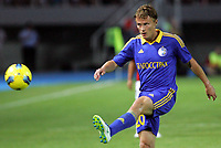 BILDET INNGÅR IKKE I FASTAVTALENE MEN MÅ KJØPES SEPARAT<br /> <br /> Fotball<br /> Foto: imago/Digitalsport<br /> NORWAY ONLY<br /> <br /> 25.07.2012<br /> Skopje (Former Yugoslav Republic Macedonia) FK Vardar-FK Bate Borisov UEFA Champions League qualifying 2nd leg <br /> <br /> Vitali Rodionov FK Bate Borisov