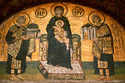 TURKEY, ISTANBUL, BYZANTINE Aya Sofya (Santa Sophia) mosaic 6thc