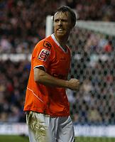 Photo: Steve Bond/Richard Lane Photography. Derby County v Blackpool. Coca-Cola Championship. 26/12/2009. Goal scorer Brett Ormerod
