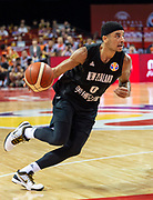 NANJING,CHINA:SEPTEMBER 5th 2019.FIBA World Cup Basketball 2019 Group phase match.Group F. New Zealand vs Greece.Point Guard Tai WEBSTER<br /> Photo by Jayne Russell / www.PhotoSport.nz