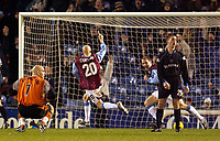 Photo. Jed Wee.<br /> Burnley v Reading, Nationwide League Division One, Turf Moor, Burnley. 25/11/03.<br /> Burnley's Richard Chaplow (20) celebrates after scoring.