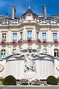 Hotel de Ville town hall in Avenue de Champagne, Epernay, Champagne-Ardenne, France