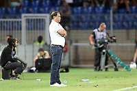 Stephane Moulin, entraineur Angers SCO<br /> SOCCER : Montpellier / Angers - League 1 - 08/13/2016<br /> <br /> Norway only