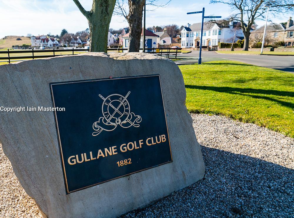 Gullane Golf Club  in East Lothian, Scotland, United Kingdom