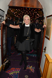 AMANDA ELIASCH at a 1970's themed party as part of Annabel's 50th anniversary celebrations, held at Annabel's, Berkeley Square, London on 24th September 2013.