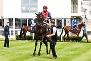 Alfies Watch ridden by L Morris trained by J G M O'Shea - Mandatory by-line: Robbie Stephenson/JMP - 06/08/2020 - HORSE RACING - Bath Racecourse - Bath, England - Bath Races