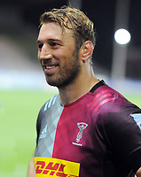 Rugby Union - 2019/ 2020 Gallagher Premiership - Harlequins vs Wasps<br /> <br /> Chris Robshaw playing his last home game for Harlequins on 299 games ,reflects on his career inane interview after the match at the Twickenham Stoop.<br /> <br /> COLORSPORT/ANDREW COWIE