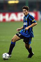 Milano 30/09/2003 <br />Champions League <br />Inter Dynamo Kyiv 2-1 <br />Javier Zanetti (Inter)<br />Foto Andrea Staccioli Graffiti