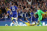 Bristol Rovers midfielder Stuart Sinclair (24) fouled for a penalty during the EFL Cup match between Chelsea and Bristol Rovers at Stamford Bridge, London, England on 23 August 2016. Photo by Matthew Redman.