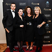 Jovoy teams attend Rochay High Society Soiree with Jovoy at Westbury Mayfair grafton suite on 21 November 2019, London, UK.