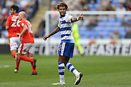 Daniel Williams of Reading gives a thumbs up . EFL Skybet  championship match, Reading  v Huddersfield Town at The Madejski Stadium in Reading, Berkshire on Saturday 24th September 2016.<br /> pic by John Patrick Fletcher, Andrew Orchard sports photography.