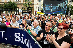 Supporters during Stage 2 of 24th Tour of Slovenia 2017 / Tour de Slovenie from Ljubljana to Ljubljana (169,9 km) cycling race on June 16, 2017 in Slovenia. Photo by Vid Ponikvar / Sportida