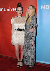 Carly Chaikin, Portia Doubleday bei der NBC Universal Summer Press Tour in Beverly Hills / 030816 ***Summer Press Tour at the Beverly Hilton on August 3, 2016***