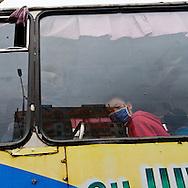 Mongolia. Ulaanbaatar. Public transport in Ulaanbaatar.