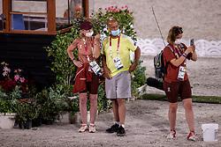 Wettstain Marie-Line, Hilberath Jonny<br /> Olympic Games Tokyo 2021<br /> © Hippo Foto - Dirk Caremans<br /> 21/07/2021