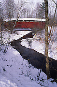 PA landscapes, Covered Bridge, Little Buffalo State Park, Perry Co., Pennsylvania