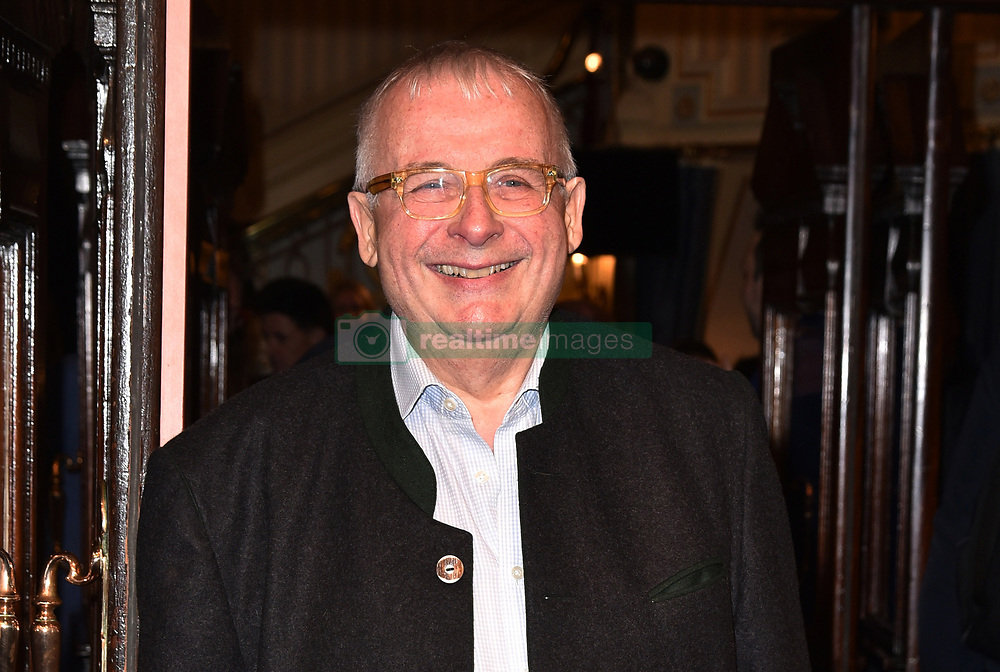 May 29, 2019 - London, London, United Kingdom - Image licensed to i-Images Picture Agency. 29/05/2019. London, United Kingdom. Christopher Biggins attends The Starry Messenger press night  in London  (Credit Image: © i-Images via ZUMA Press)