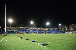 A general view of Cardiff Arms Park, home of Cardiff Blues<br /> <br /> Photographer Simon King/Replay Images<br /> <br /> Guinness Pro14 Round 9 - Cardiff Blues v Connacht Rugby - Friday 24th November 2017 - Cardiff Arms Park - Cardiff<br /> <br /> World Copyright © 2017 Replay Images. All rights reserved. info@replayimages.co.uk - www.replayimages.co.uk