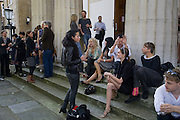 NANICE ELGAMMAL; JO WOOD; FRAN CUTLER; TIM NOBLE; ANOUCK LEPERE; JEFFERSON HACK, Julia, Mark and Francesca host a party for Tracey Emin and her new Travelling chess set. RS&A Ltd. 50b Buttesland St. Hoffman Sq. London N1. 12 October 2008 *** Local Caption *** -DO NOT ARCHIVE-© Copyright Photograph by Dafydd Jones. 248 Clapham Rd. London SW9 0PZ. Tel 0207 820 0771. www.dafjones.com.