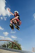 Roller blade Jump in Dubai