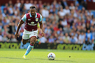 Adama of Aston Villa in action. EFL Skybet championship match, Aston Villa v Rotherham Utd at Villa Park in Birmingham, The Midlands on Saturday 13th August 2016.<br /> pic by Andrew Orchard, Andrew Orchard sports photography.