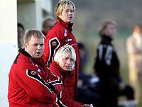Fotball<br /> La Manga - Spania<br /> 04.02.2009<br /> U23 Norge v USA 0-1<br /> Foto: Morten Olsen, Digitalsport<br /> <br /> Roger Finjord - Reidun Seth - Gøril Kringen