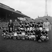 26/04/1964<br /> 04/26/1964<br /> 26 April 1964<br /> F.A.I. Cup Final: Shamrock Rovers v Cork Celtic at Dalymount Park, Dublin. The game ended 1-1 and went to a replay that Rovers won. The Cork Celtic Team.
