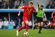Kevin De Bruyne of Belgium during the 2018 FIFA World Cup Russia, Semi Final football match between France and Belgium on July 10, 2018 at Saint Petersburg Stadium in Saint Petersburg, Russia - Photo Thiago Bernardes / FramePhoto / ProSportsImages / DPPI