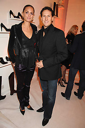 SHELLEY ROSS and BRENDAN COLE at a party to celebrate the opening of the new Beatrix Ong store in Burlington Arcade, Piccadilly, London on 14th November 2007.<br />