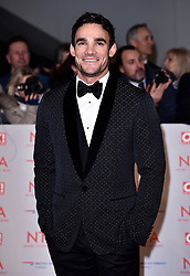 Thom Evans attending the National Television Awards 2018 held at the O2 Arena, London. PRESS ASSOCIATION Photo. Picture date: Tuesday January 23, 2018. See PA story SHOWBIZ NTAs. Photo credit should read: Matt Crossick/PA Wire
