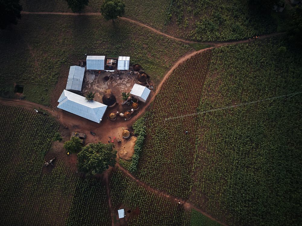 7/17/19 /2019 / Kpatia / Ghana: For the past five years, Oxfam has been absent in Kpatia and Tambalug (2 communities in Garu Tempane District of the Upper East Region of Ghana).  This project is a visual documentary study on the impact of climate change on these farming communities, in the absence of fresh aid.