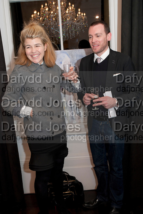 Amber Nuttall; Julian Farrow, Gino Hollander exhibition, Also a chance to see  the flat at 105-106 Lancaster Gate which is for sale. London. 4 February 2010.