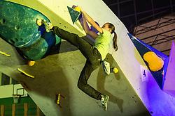 National championship in boulder climbing on November 30, 2014 in Kranj, Slovenia. (Photo By Grega Valancic / Sportida)