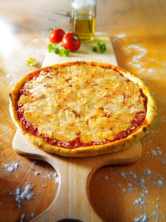Italian cheese Pizza - margerita photo. Funky Stock pizzas photos