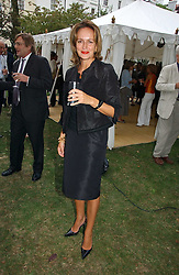 CAROLINE MICHEL at a party to celebrate the publication of Notting Hell by Rachel Johnson held in the gardens of 1 Rosmead Road, London W11 on 4th September 2006.<br /><br />NON EXCLUSIVE - WORLD RIGHTS