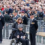 NLD/Amsterdam/20150504 - Dodenherdenking 2015 Amsterdam, aankomst oud militairen