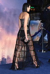 Dua Lipa attending the World Premiere of Alita: Battle Angel, held at the Odeon Leicester Square in London. Photo credit should read: Doug Peters/EMPICS