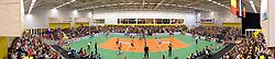 29-12-2015 NED: Nederland - Belgie, Almelo<br /> Op het 25 jaar Topvolleybal Almelo spelen Nederland en Belgie een oefen interland ter voorbereiding op het OKT dat maandag in Ankara begint. Nederland wint overtuigend met 3-0 / De Iispa sporthal is goed gevuld tijdens de interland