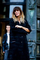 Street style, Lou Doillon arriving at Haider Ackermann spring summer 2019 ready-to-wear show, held at Palais de Tokyo, in Paris, France, on September 29, 2018. Photo by Marie-Paola Bertrand-Hillion/ABACAPRESS.COM