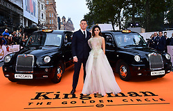 Channing Tatum and Jenna Dewan Tatum attending the World Premiere of Kingsman: The Golden Circle, at Cineworld in Leicester Square, London. Picture Date: Monday 18 September. Photo credit should read: Ian West/PA Wire