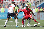 Jose luis Rodriguez of Panama and Ruben Loftus-Cheek of England during the 2018 FIFA World Cup Russia, Group G football match between England and Panama on June 24, 2018 at Nizhny Novgorod Stadium in Nizhny Novgorod, Russia - Photo Tarso Sarraf / FramePhoto / ProSportsImages / DPPI