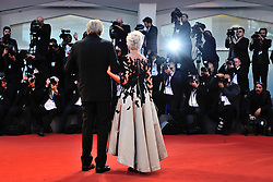 Actress Helen Mirren and Actor Donald Sutherland attending The Leisure Seeker Premiere during the 74th Venice International Film Festival (Mostra di Venezia) at the Lido, Venice, Italy on September 03, 2017. Photo by Aurore Marechal/ABACAPRESS.COM
